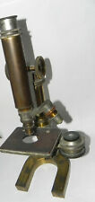 ANTIQUE BRASS BAUSCH & LOMB LABORATORY GRADE MICROSCOPE For Repair NO RESERVE