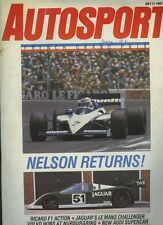 Autosport July 11th 1985 *French Grand Prix & David Purley Killed*
