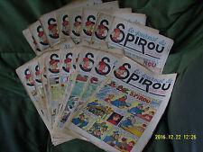 Spirou correspondance album reliure 10 sauf 2 numéros