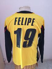 Maglia calcio Siena Vs Udinese match worn 2007 08 n 19 Felipe Brasile shirt