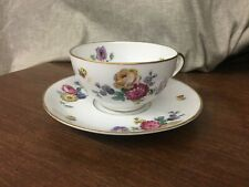 Thomas Bavaria Pattern #3662 Cup & Saucer Scattered Flowers