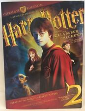 Harry Potter and the Chamber of Secrets (DVD, 2009-Collectors Edition-BRAND NEW