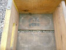 1973 CHATTANOUGA PEPSI-COLA WOODEN CRATE WITH CENTER DIVIDER