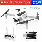 Hubsan ZINO 2+ Drone 9KM FPV 4K HD Camera Foldable Quadcopter 3Gimbal+Battery