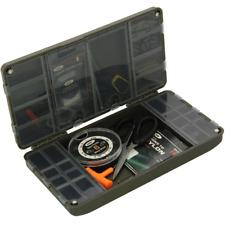 FISHING TACKLE BOX TERMINAL TACKLE SYSTEM XPR CARP BOX SWIVELS HOOKS