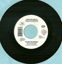 GO GOO DOLLS, WE ARE THE NORMAL, ORIGINAL 45rpm RECORD, 1993, MINT-
