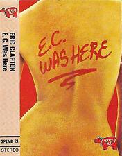 Eric Clapton E.C. Was Here CASSETTE ALBUM Blues Rock Live Yvonne Elliman