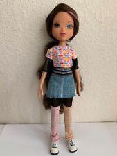 Bratz Moxie Girlz Girl Sophina Doll Brown Hair Brown Eyes Clothes Shoes