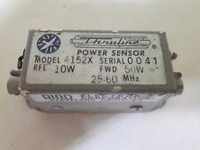 BIRD electronic corporation POWER SENSOR MODEL 4152X fwd50w 25-60MHz