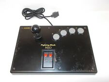Neo Geo AES, CD -- Controller Fighting Stick NEO -- HORI. JAPAN GAME. 14232