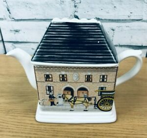 Ringtons 1920s House Collector's Teapot by Wade Ceramics 1993