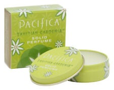 Pacifica Solid Perfume Tin 100% Vegan All Natural Scent TAHITIAN GARDENIA 10g