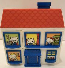 Rare Vintage 1976 Japan Made Sanrio Hello Kitty House Jewelry Box- EX