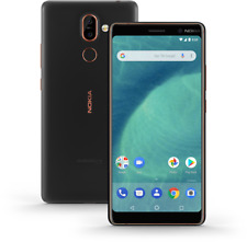 "Neu in Versieg.Box Nokia 7 Plus 6.0"" GLOBAL  Smartphone Black/Copper/64GB"