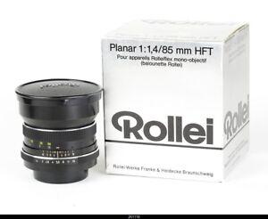 Lens Zeiss   Planar 1.4/85mm  HFT No.5648844  for Rolleiflex SL35 Mint Box