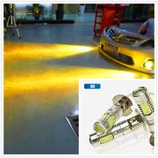2pcs H3 7.5w 12v golden yellow fog LED Lamp Replacement Fog LED light bulbs
