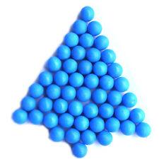 100 - New .68 cal Reusable Rubber Training Balls Paintballs (BLUE)