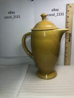 Fiesta Homer Laughlin Antique Gold Coffee Pot and Lid