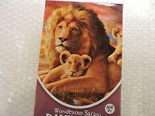 Safari Lion PUZZLE 500 piece Ages 9+, Colorful Lion and Cubs