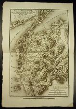 Hellespont Chersonèse de Thrace & part of Troade Carte 1790 Barbié du Bocage map