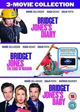 Bridget Jones -3 Bridget Jones's Diary/ Edge Of Reason/ Bridget Jones's Baby NEW