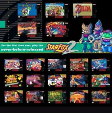SNES Classic Edition Mod SERVICE Hack - 200+ Games or YOUR CHOICE out 700+.