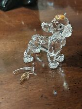Swarovski Crystal Figurine Disney Simba Lion King Mint other then Tail Easy fix