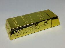 Gold Bar Shape Refillable Butane Torch Cigarette Lighter