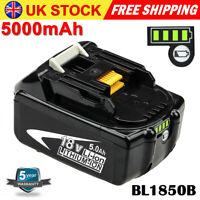 For Makita BL1850B BL1860B LXT400 BL1830 BL1840 18V 5000mAh Lithium Ion Battery