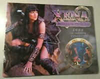 "XENA WARRIOR PRINCESS 1999 16 Month Calendar 14""x11"" Lucy Lawless - SEALED"