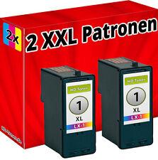 2 x DRUCKER PATRONEN für LEXMARK Nr. 1 X2450 X2470 X3450 X2310 X2315 X2330 X2350