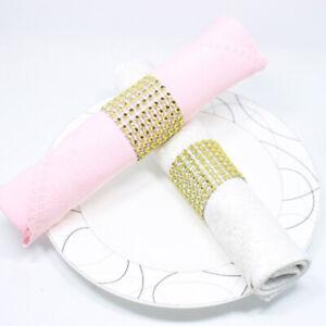 Party Supplies Table Decor Napkin Rings Holder Hotel Handmade Elegant Crafts FW