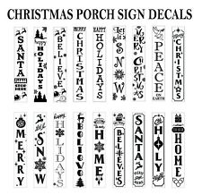 Holiday Decals - DIY Porch Signs - Choose From 18 Designs - Ships Free and Fast