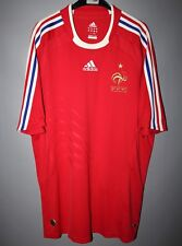 FRANCE NATIONAL TEAM 2008 2009 AWAY FOOTBALL SHIRT JERSEY ADIDAS SIZE L