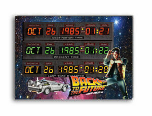Time Circuits Wooden Sign Back to the Future Wooden plaque! Have your own dates