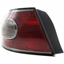 For ES330 04, Driver Side, Outer Tail Light, Clear and Red Lens