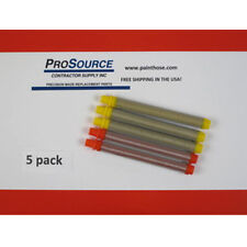 Titan Airless Spray Gun Push On Filters Combo 5 Pack 3 Yellow 2 Red