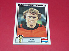 120 JANSEN NEDERLAND ARGENTINA 78 FOOTBALL PANINI WORLD CUP STORY 1990 SONRIC'S