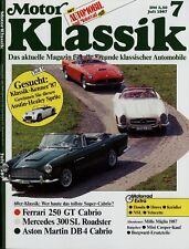 Motor Klassik 7/87 1987 Kreidler Florett Mini Cooper NAG Sport Velocette 350 KTS