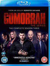 Gomorrah Season 3 [Blu-ray] NEU Sprache Italienisch Untertitel Englisch Staffel