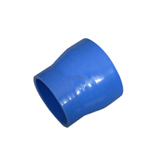 """2.5""""-2.25"""" Blue Silicon Hose Reducer Straight Coupler for Intercooler Pipe Turbo"""