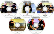 Self Defence 5 DVDs MEGA DISC BUNDLE Street Fighting Secret Tactics Martial Arts