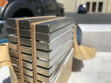 "(2) Neodymium 3"" x 1/2"" x 1/4"" Bar Type Magnet Rare Earth N35 USA Seller"
