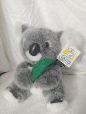 "Vtg Featherdale Wildlife Park 9"" Koala Plush Stuffed Australian Bear Uni- Toys"