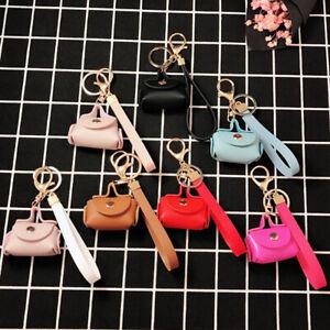 Women Key chain Bag Key ring Key Chain Mini Bag Handbag Charm Bag Accessories#