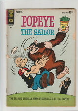 Popeye #72 G 1964 Gold Key Comic