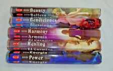 Hem Divine Series Incense Variety: All 5 Fragrances 20 Stick Boxes = 100 Sticks