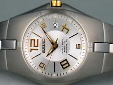 SEIKO Arctura Kinetic Auto Relay SNG069 SNG069P1 Mens Date Sapphire Steel Watch