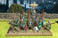 Well Painted Elf Spearmen Unit - Mantic Kings of War #2