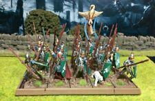Well Painted Elf Spearmen Unit - Mantic Kings of War #2
